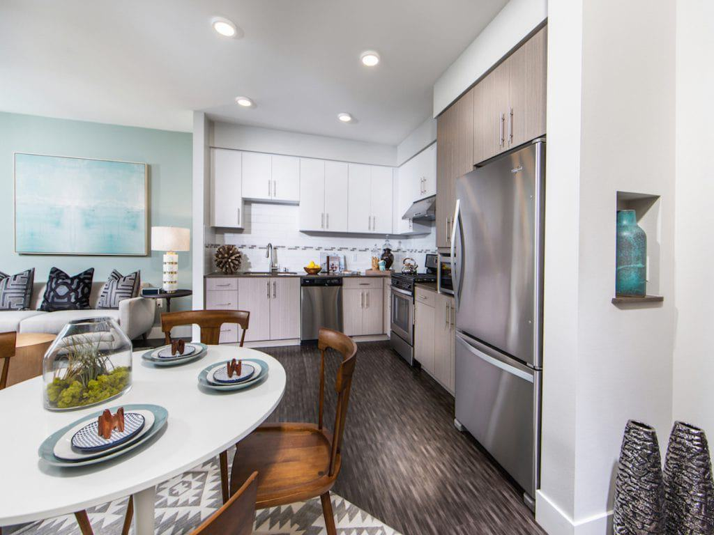 Plan A2 - Dining/Kitchen - Aria in Cerritos