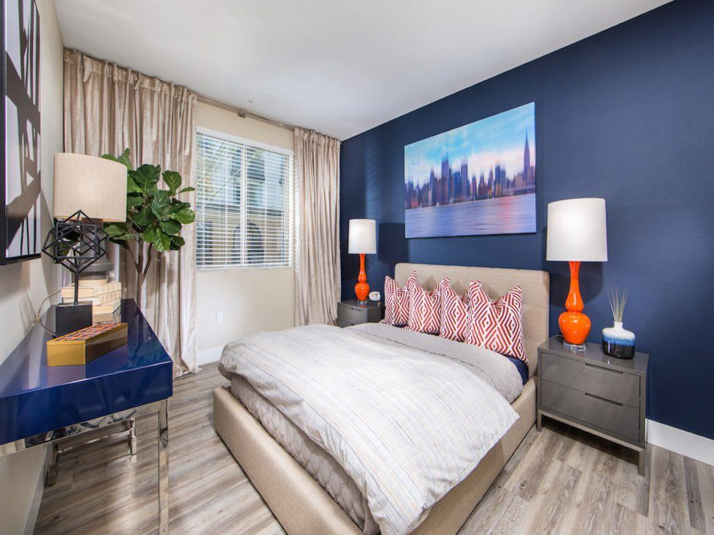 Plan B2 - Master Bedroom - Aria Apartment Homes