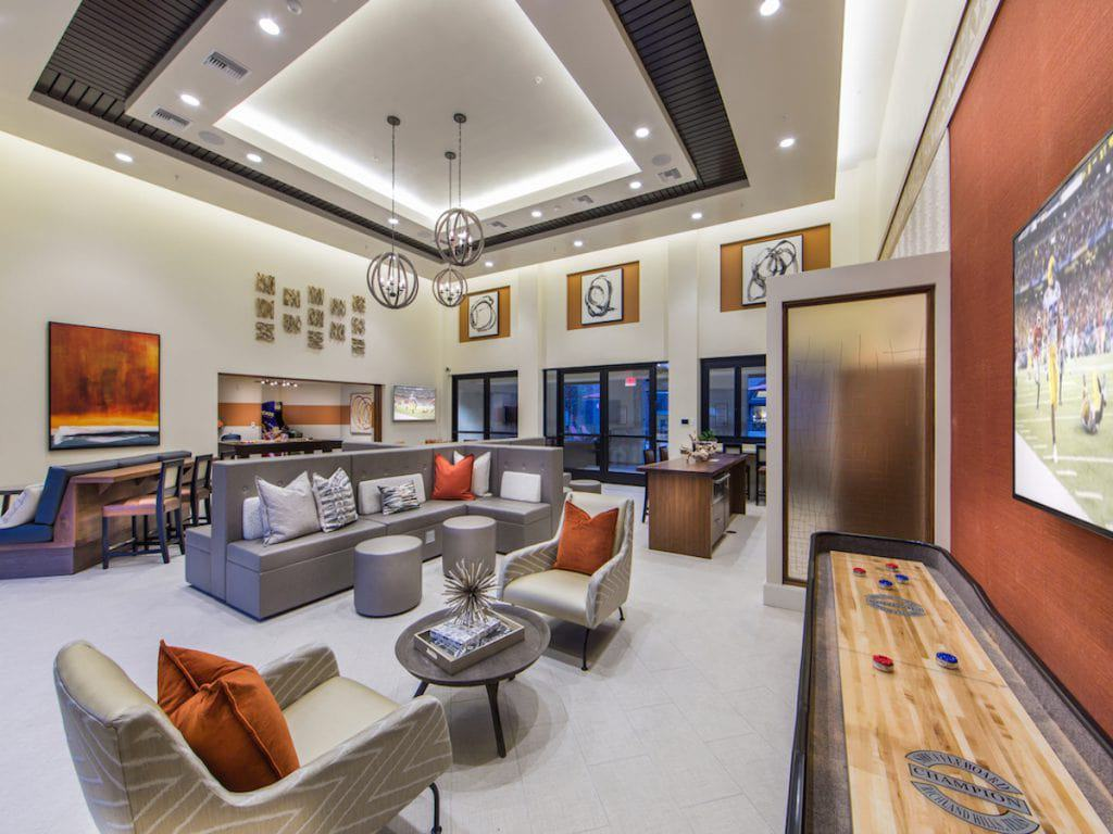 Aria Resident Lounge in Cerritos