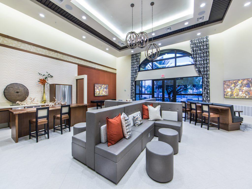 Resident Lounge at Aria Apartments