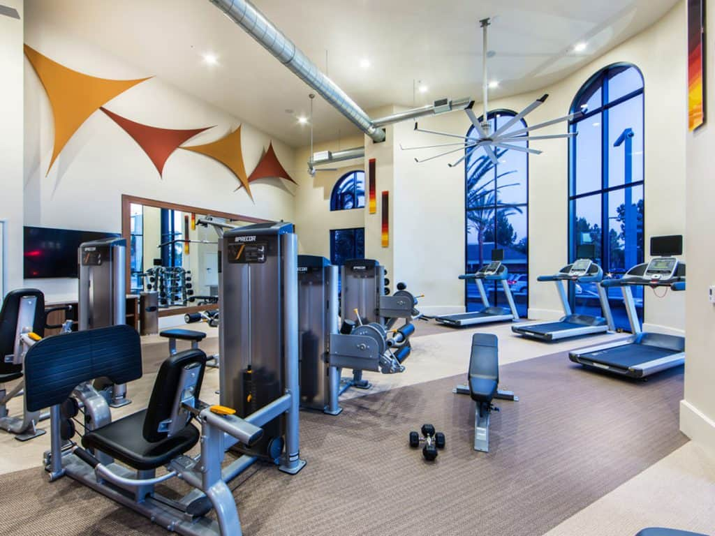 Onsite Fitness Club at Aria